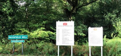 STOP PRESS Passfield Mill Liphook